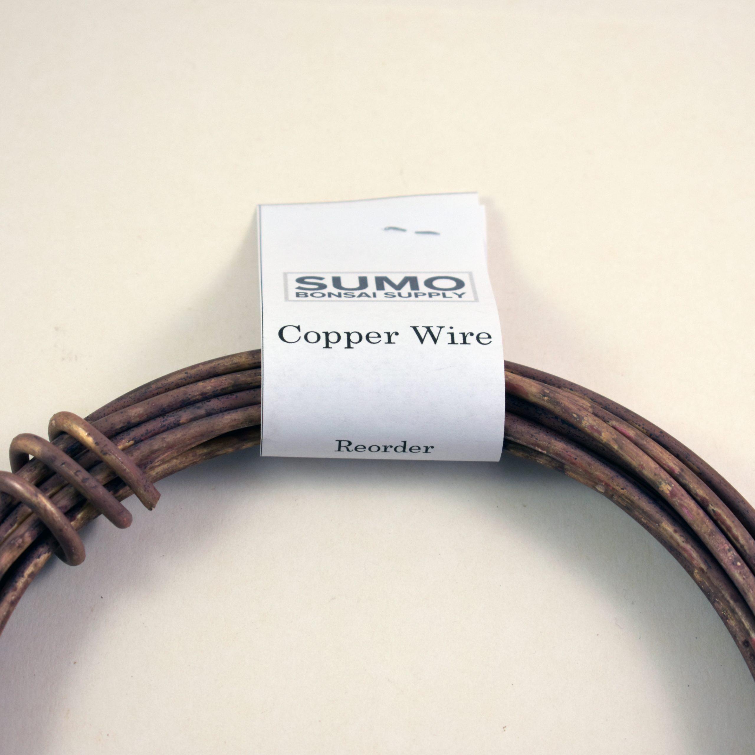 Copper Bonsai Wire Set Sumo Bonsai Supply In 2020 Bonsai Wire Bonsai Copper