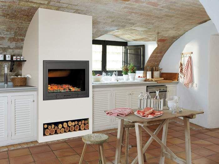 Estufas con horno de leroy merlin decorando pinterest - Estufas con horno de lena ...
