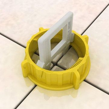 Us 19 61 100pcs Tile Leveling Tools For Perfectly Level Floor And Wall Home Decor From Home And Garden On Banggood Com With Images Remodeling Tools Tools Tile Tools