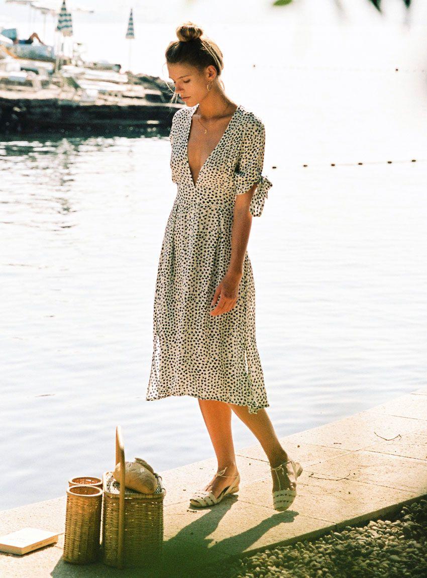 super cute new products outlet online Buy Nina Midi Dress - Faithfull The Brand | Dresses, Faithfull the ...