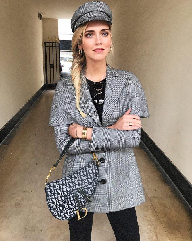 f8f41d5ce1 Chiara Ferragni, Cape Jacket, Italian Style, Fall Winter Outfits, Vintage  Dior,