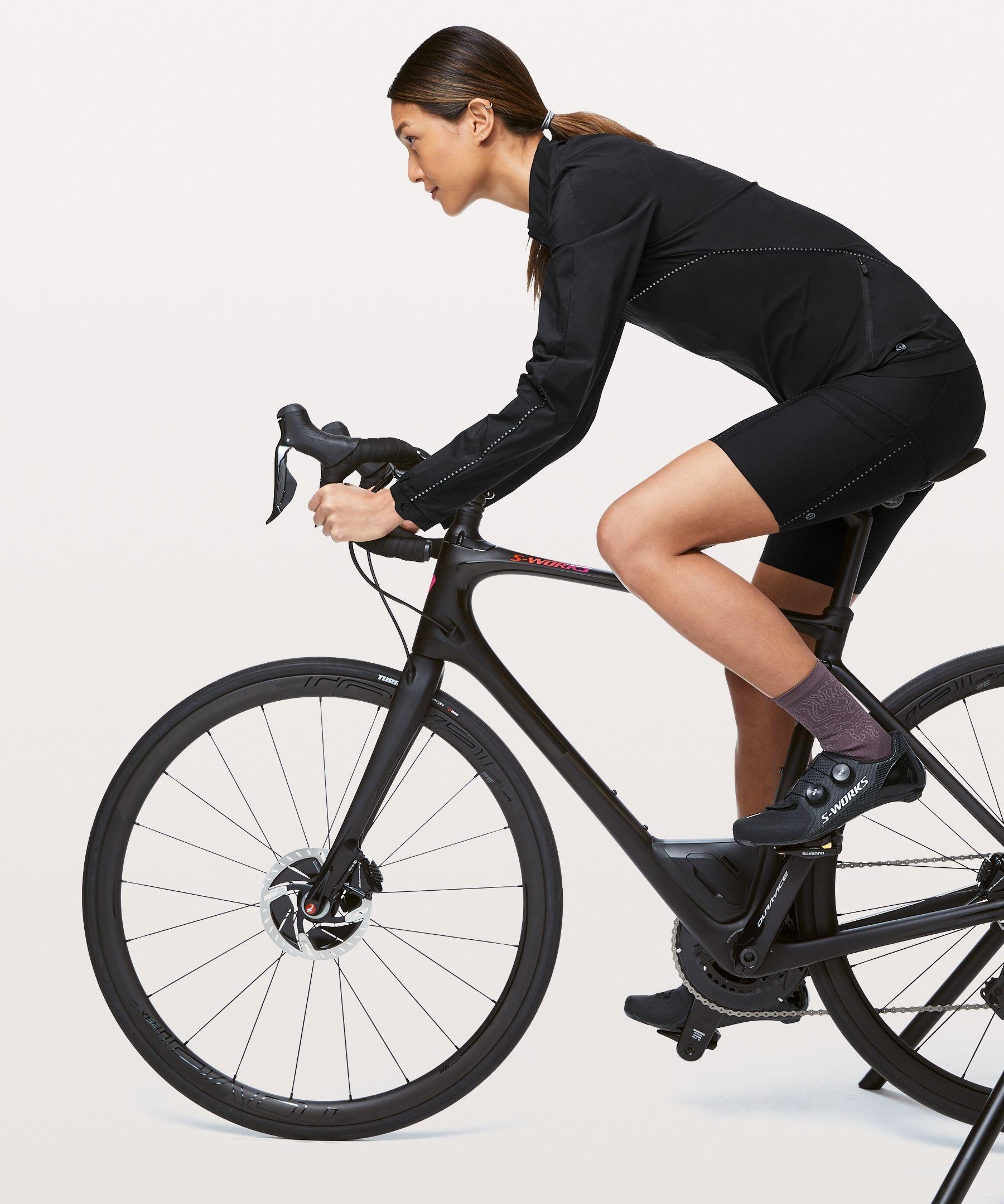 Lululemon Women S City To Summit Cycling Jacket Black Size Xs In 2020 Jackets For Women