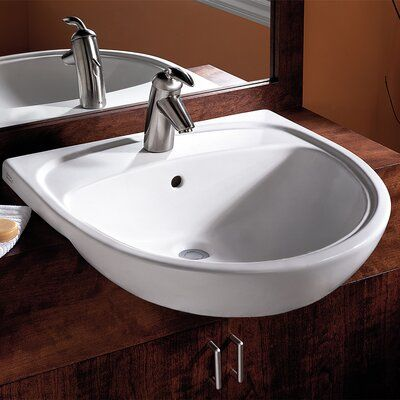 Escale Drop In Sink With Single Faucet Hole K 19029 1 Kohler
