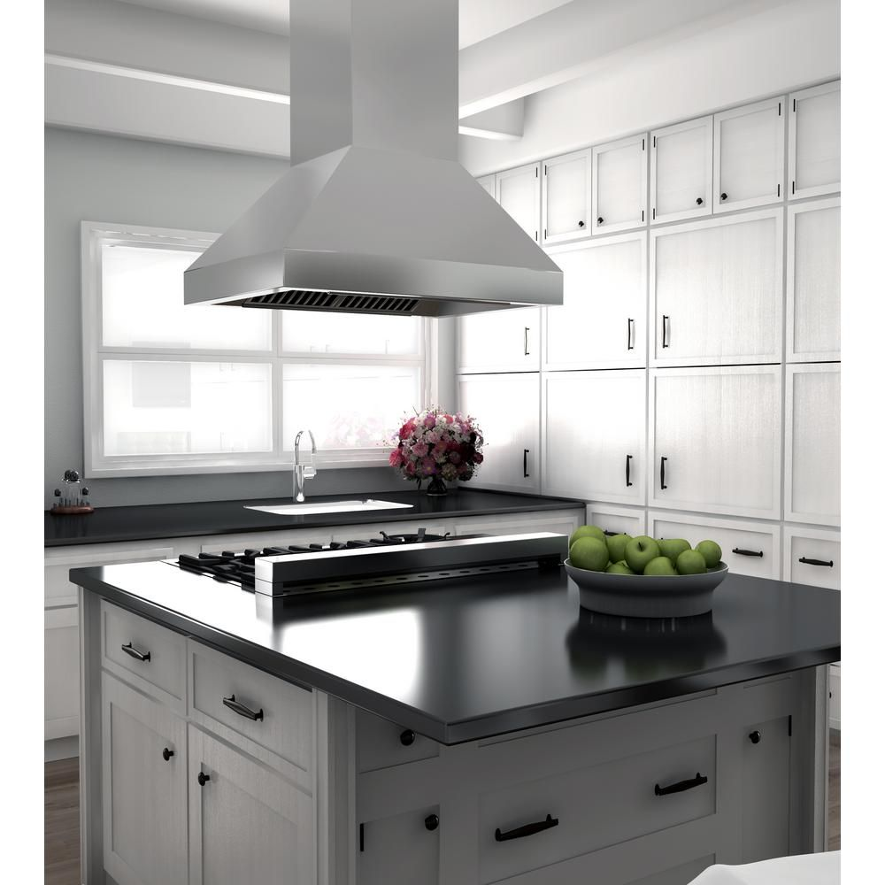 Zline Kitchen And Bath Zline 30 In Island Mount Range Hood In Stainless Steel 597i 30 597i 30 Range Hood Kitchen Remodel Stainless Range Hood
