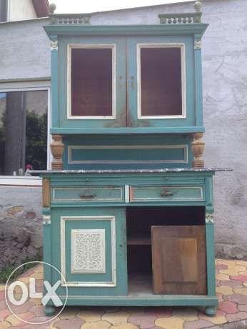 Régi konyhaszekrény / tálaló /! Nagyesztergár - kép 1