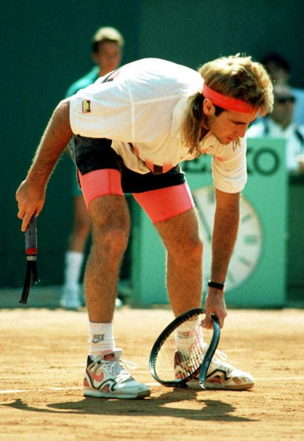 Andre agassi, Vintage tennis, Tennis