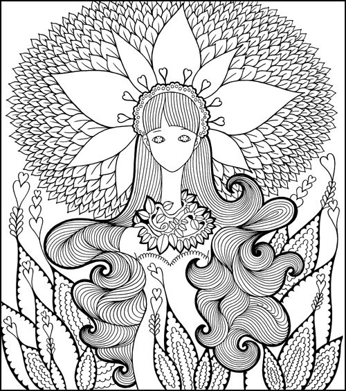 Fairy Shampoo An Enchanted Coloring Book I Waves Of Color