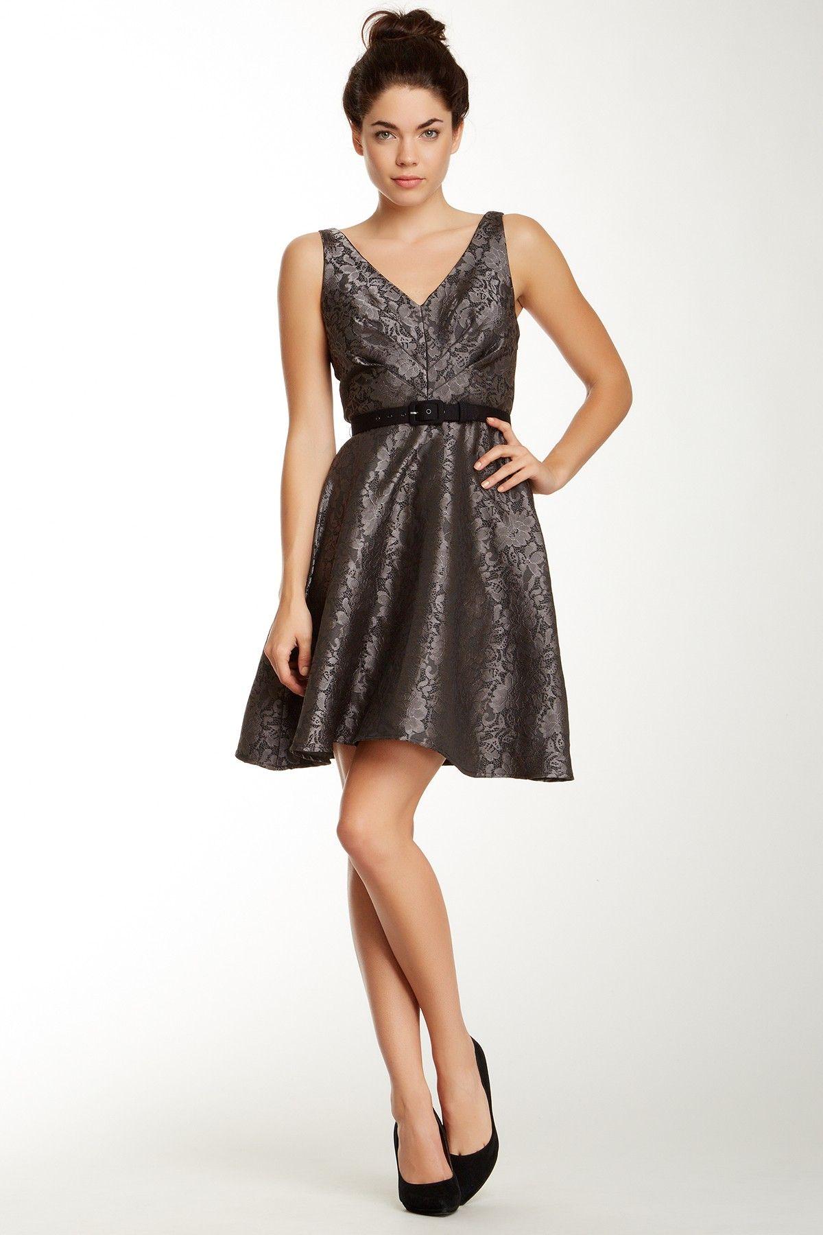 171cc94f5b07 Alexander Metallic Floral Dress