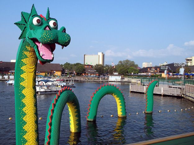Downtown Disney, Disney World All made out of Leggo's - thought ...
