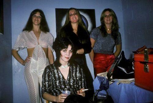 TheRunaways at backstage #CBGB, 1976