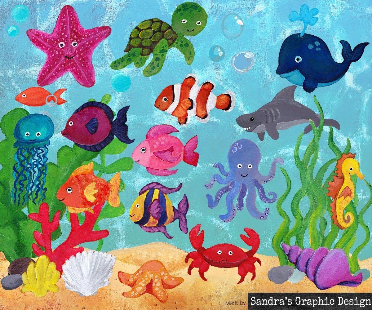 Sea Life Clipart Ideas Sea Life Clipart Image Of Fish Sea Life
