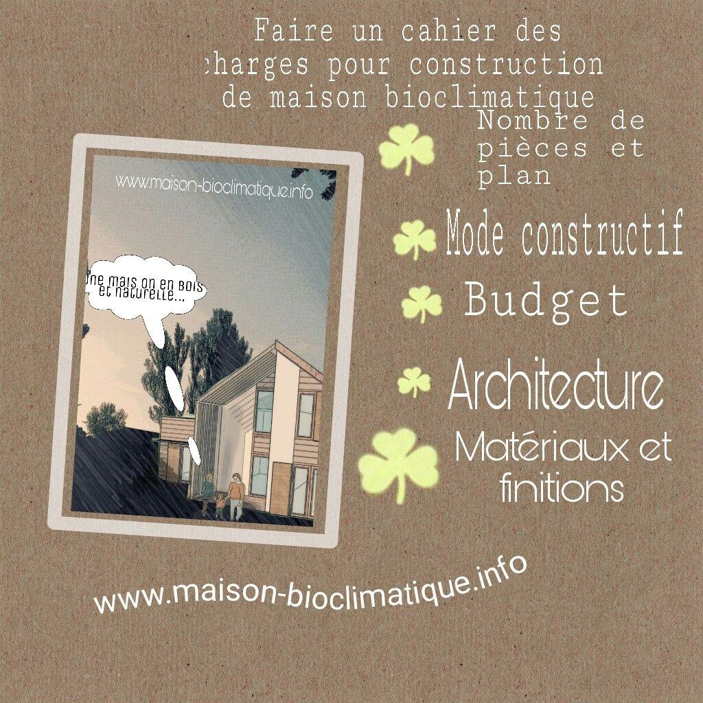 cahier des charges materiaux   travaux, extension, aménagement et ... - Cahier Des Charges Construction Maison