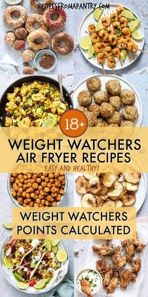 Looking for Healthy Air Fryer Recipes that are tasty and quick and easy to make? Each of the air fryer recipes in this collection are under 425 kcal, with most less than 350 kcal! But you'd never know it, since these easy air fryer recipes are SO delicious. Eating healthy has never tasted so good! #airfryer #airfryerrecipes #healthyrecipes #easyairfryerrecipes #wwrecipes #airfryerrecipes
