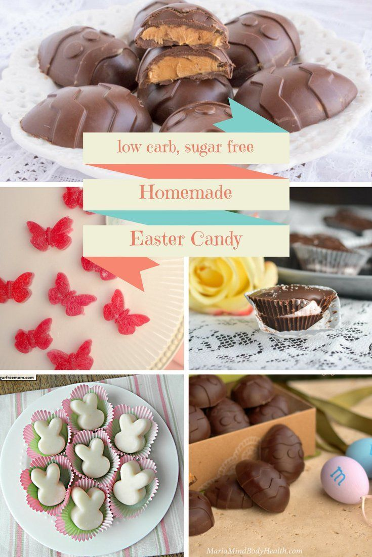13 Sugar-Free Low Carb Homemade Easter Candy