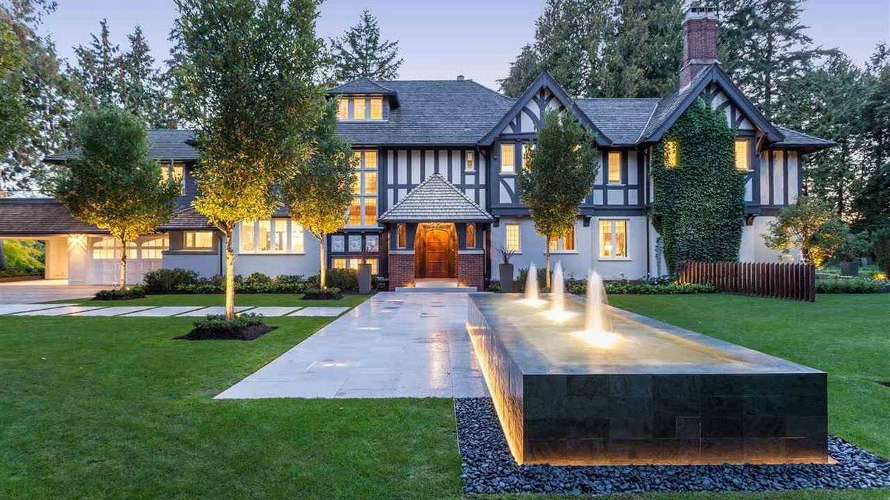 Modern English Tudor House Offers The Highest Degree Of Elegance