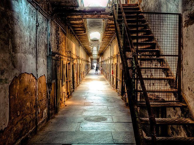 The Scariest Places In America Eastern State Penitentiary Philadelphia This