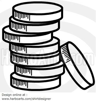 coin stack download vector graphic u003e u003e vector drawing download rh pinterest com Monopoly Money Template Funny Money Template