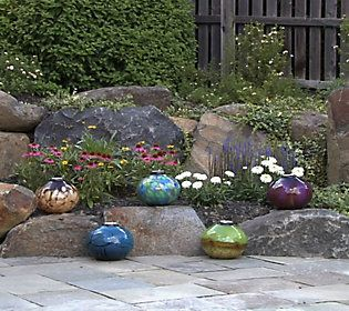 Tabletop Indoor/Outdoor Glass Firepot W/Organica Fuel And Media Roll