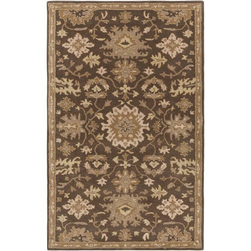 Caesar Chocolate and Olive Rectangular: 10 Ft x 14 Ft Rug - (In Rectangular)
