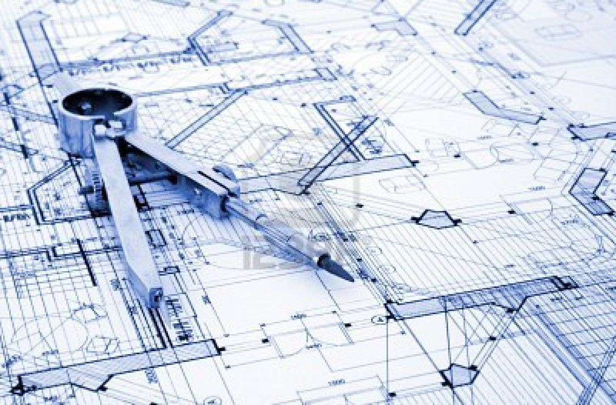 Modern architecture blueprints 22655 hd wallpapers for Architecture design blueprint