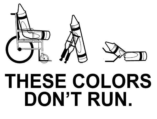 These colors don't run.