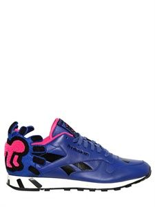 need some color for spring/summer - in the form of REEBOK  CLASSIC LEATHER KEITH HARING SNEAKERS