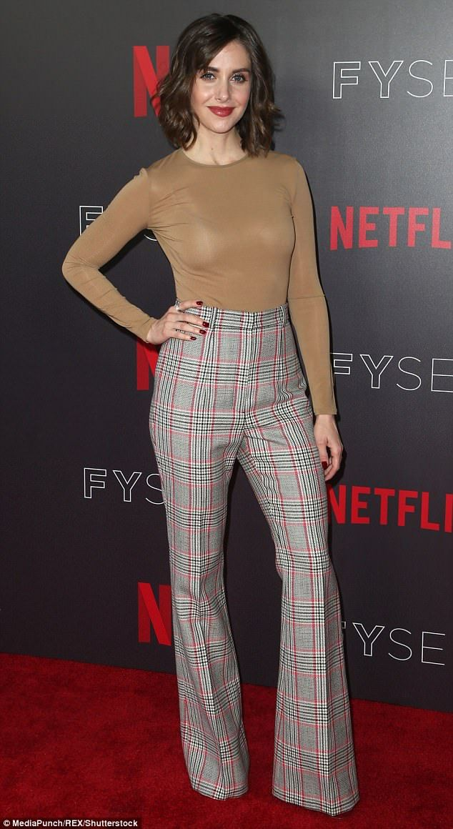 Alison Brie leads pack of stars at Netflix FYSee event