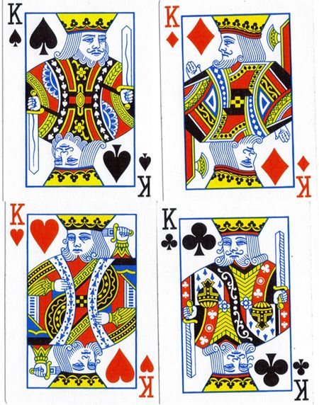 Each King In A Deck Of Playing Cards Represents Great King From