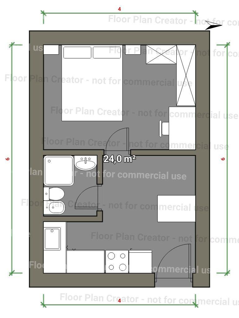 Pin de lusiana julianti en small house pinterest casas - Planos de casas pequenas ...