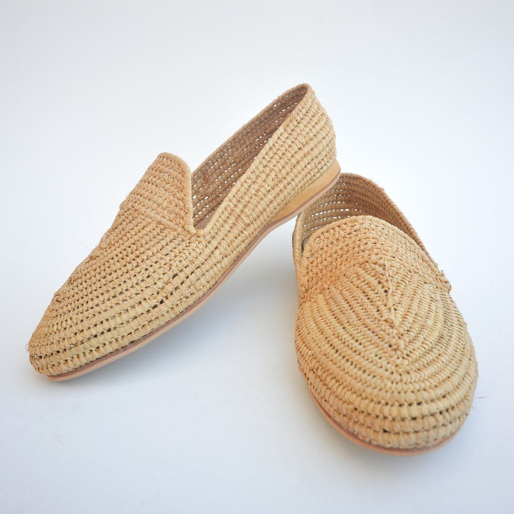 ca365fa8e5b7 Organic Moroccan raffia flats. Very comfortable and stylish Oxfords. Summer  must have these shoes are fully handmade by Moroccan artisan from pure  raffia ...