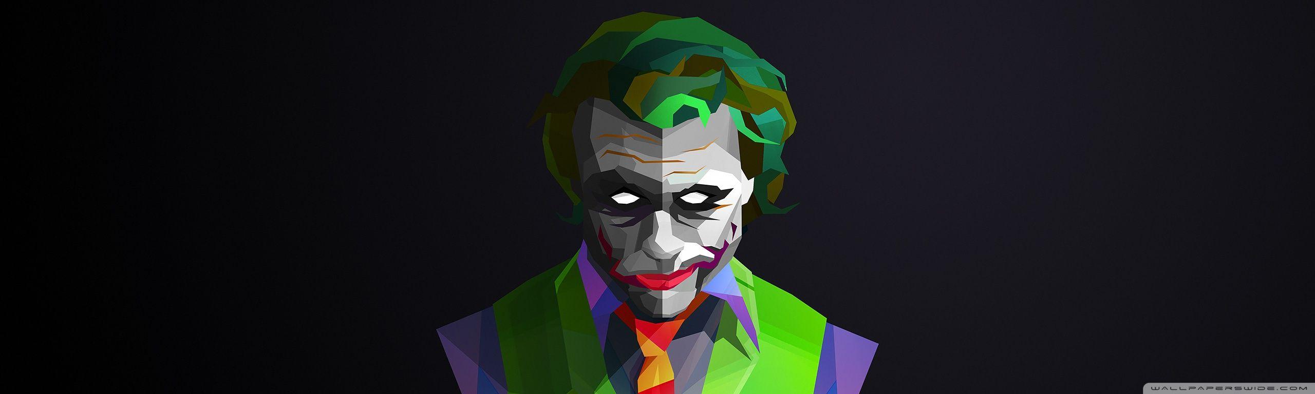 Joker Hd Desktop Wallpaper Widescreen Fullscreen Mobile Dc Comics Art Wallpaper 3d Wallpaper