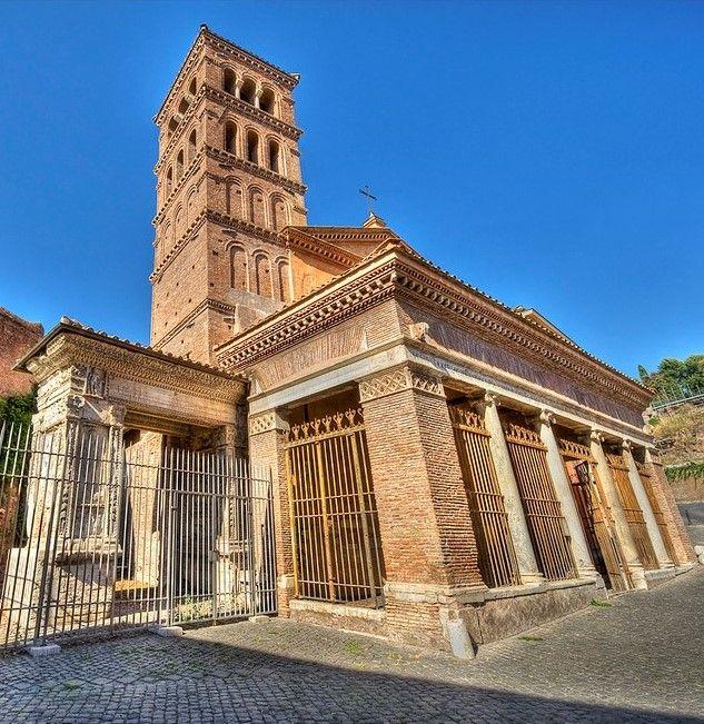 Chiesa di San Giorgio in Velabro e L'arco degli Argentari