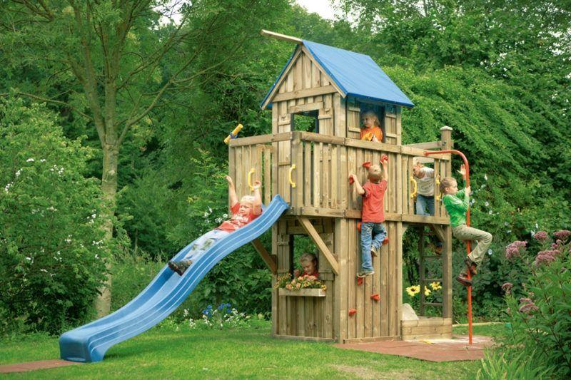 Klettergerüst Garten Selber Bauen : Klettergerüst im garten u2013 eine fantastische spielecke für die kinder