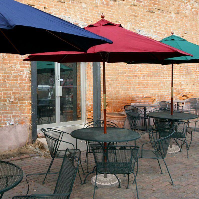 Have to have it. 9-ft. Wood Commercial Grade Sunbrella Market Umbrella $229.98