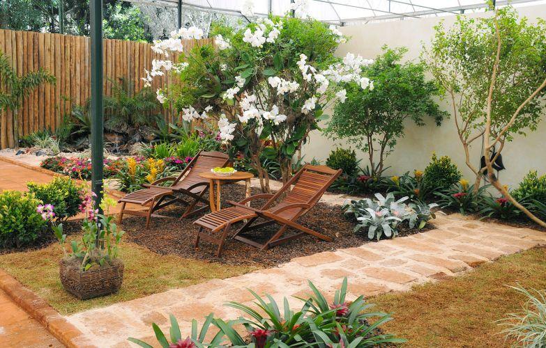 tendencias jardines rusticos