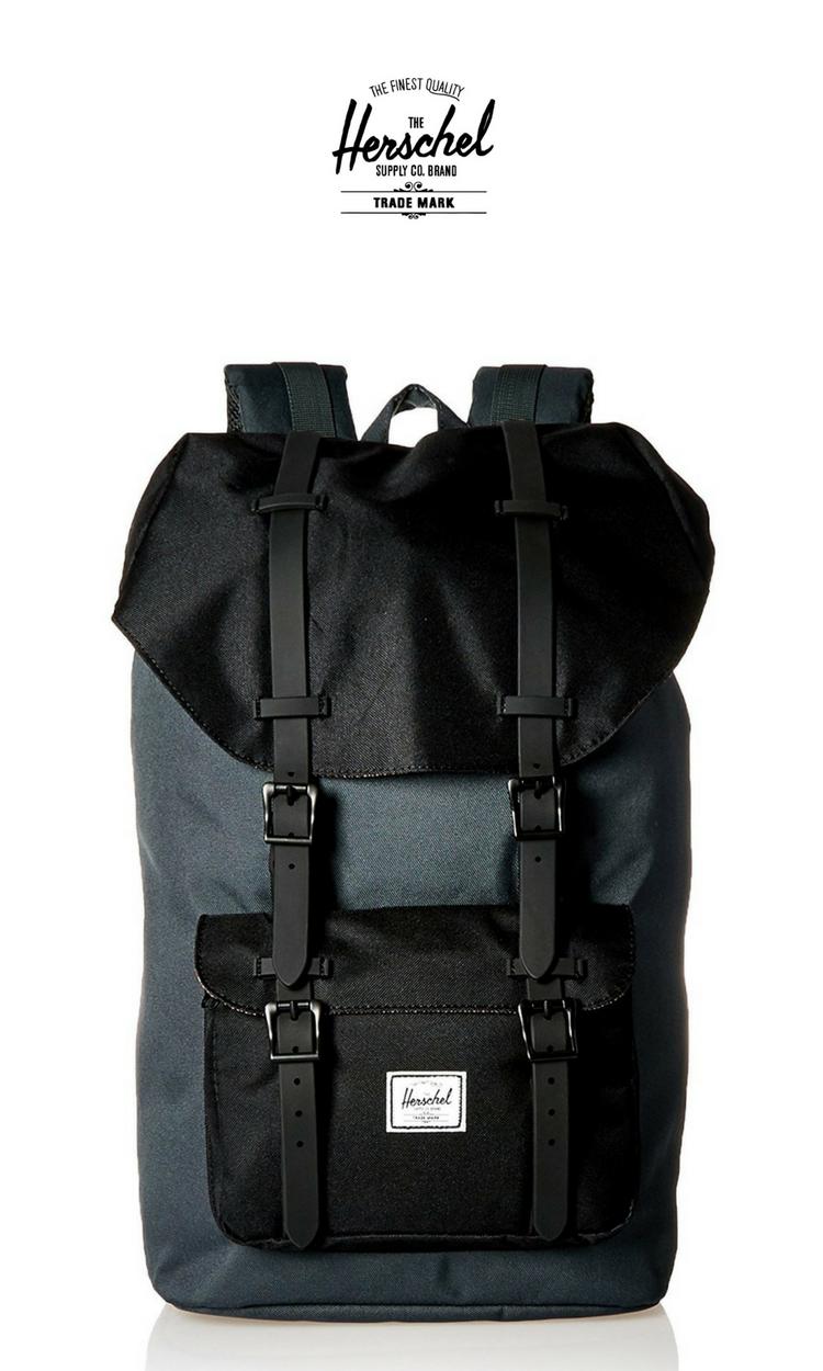 eb4701816e Little America Backpack Black Leather- Fenix Toulouse Handball
