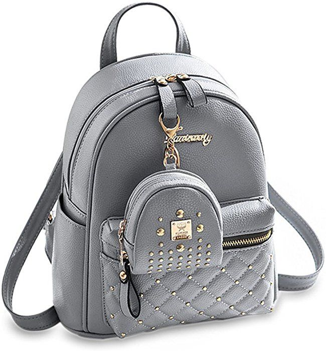 Amazon.com   Cute Small Backpack Mini Purse Casual Daypacks Leather for  Teen Girls and Women   Backpacks 9a68ca0361