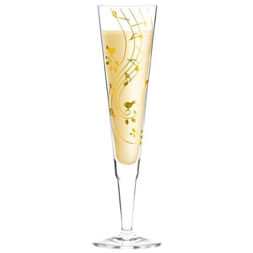 Ritzenhoff Champus 200ml Glass Champagne Flute Champagne Wine Glass Set Sparkling Drinks