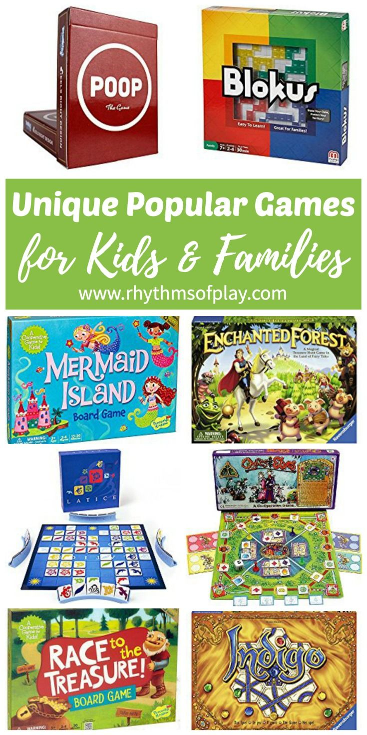 BEST Board Games for Kids That Won't Make You Run and