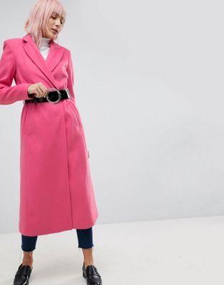 Asos mantel pink