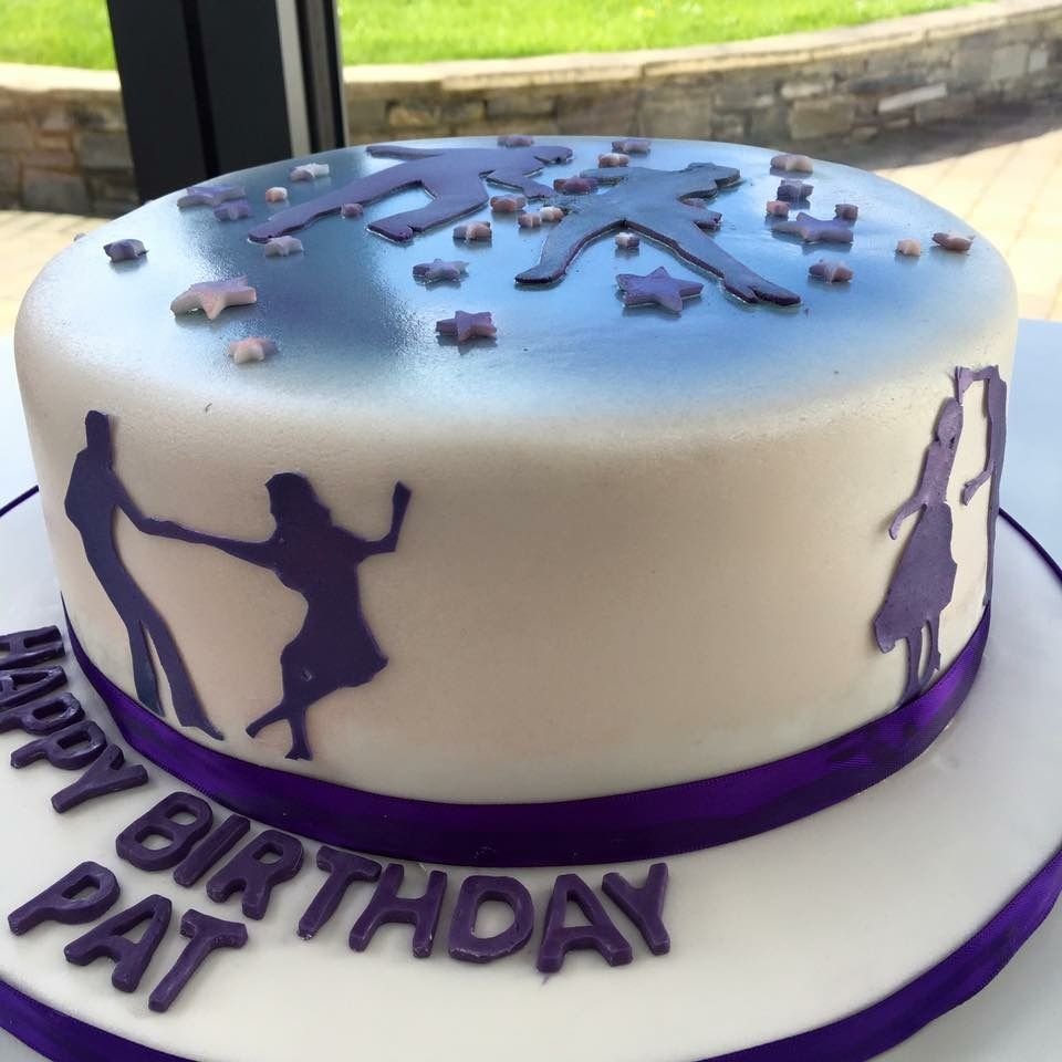 Ceroc dance cake From Sweet Sensations a bespoke cake company