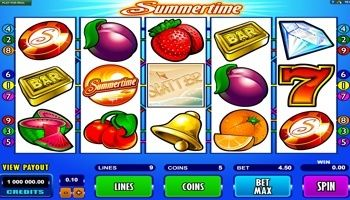 #SummerTime is a five reel video slot that you can play online. Whether you…