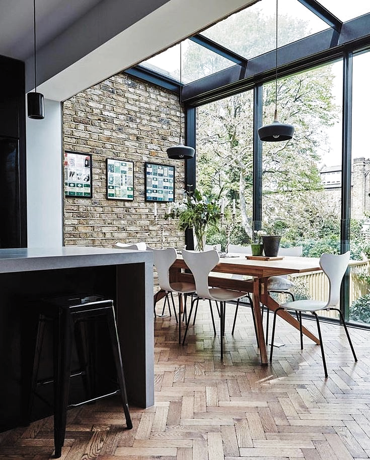 Dream kitchen inspiration. #interiors #dreamkitchen #dreamhome #conservatory #interiordecor #kitcheninteriors