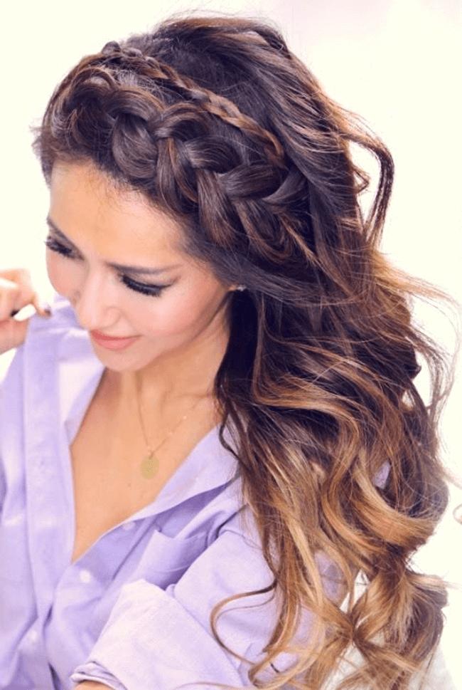 Konfirmation Frisuren Dutt Mittellange Haare