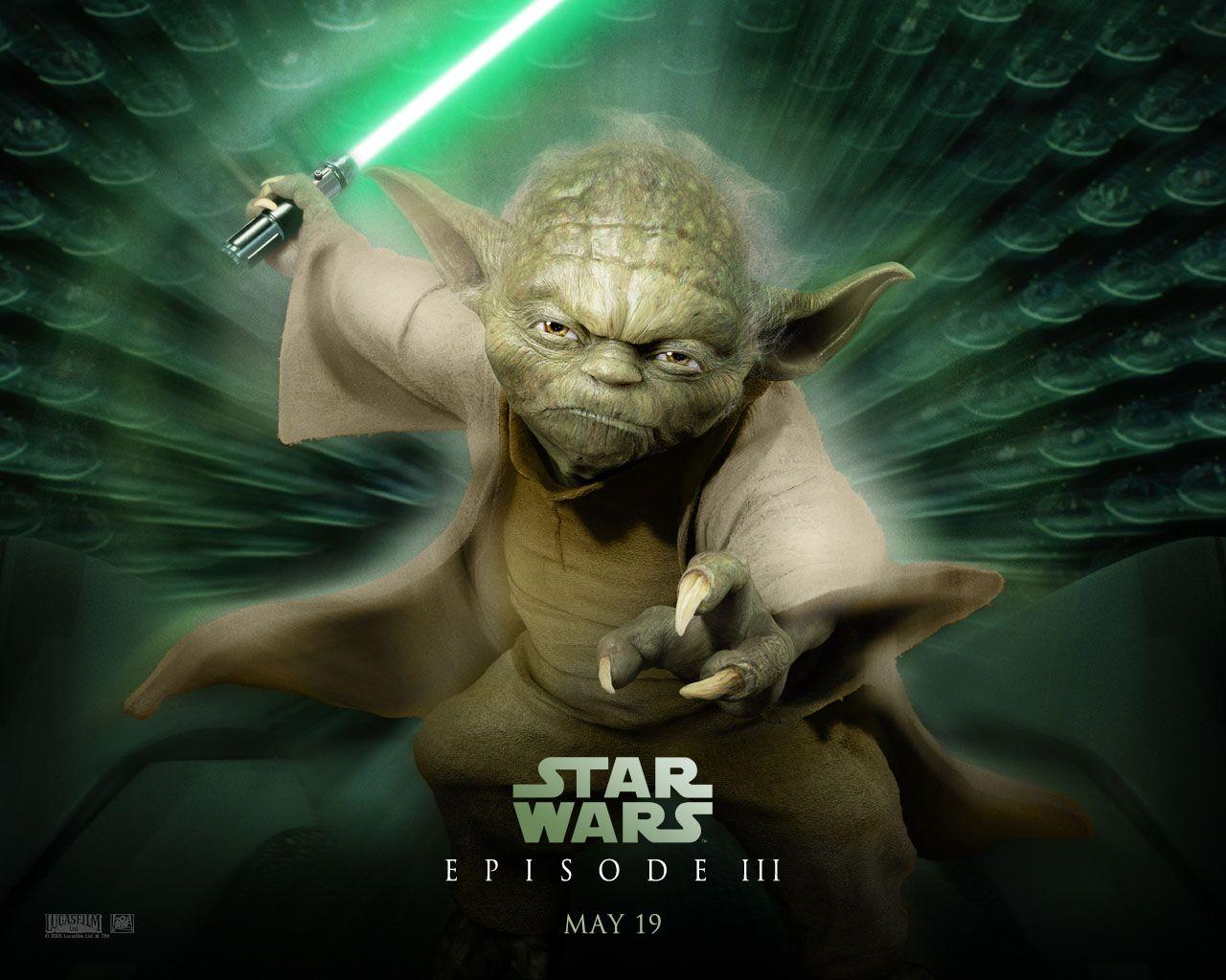 Star Wars Episode 3 Wallpaper Yoda Wallpaper Star Wars Wallpaper Star Wars Yoda