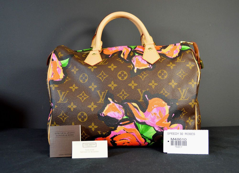 9cfa2ca0203a LOUIS VUITTON Stephen Sprouse Speedy 30 Roses Handbag..Limited  Edition...NEW!  LouisVuitton  Speedy