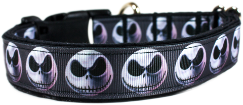 Disney Gray Jack Skellington dog collar Character collection
