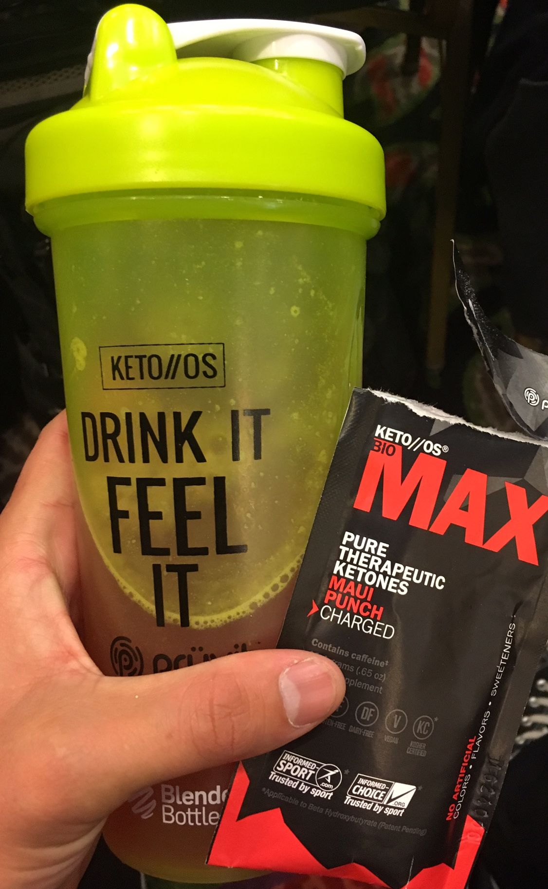 how to make ketone drink