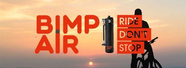 Bimp'Air, el primer sistema de inflado autónomo (y recargable) para bicicletas