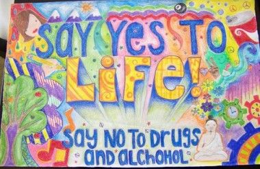 Anti Drug Poster Contest Winners Google Search Drug